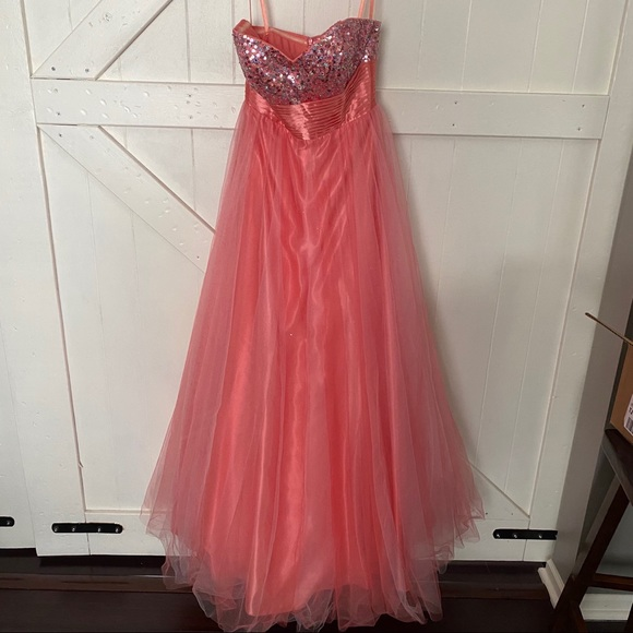 Halloween Good Witch Or Cinderella Princess Gown
